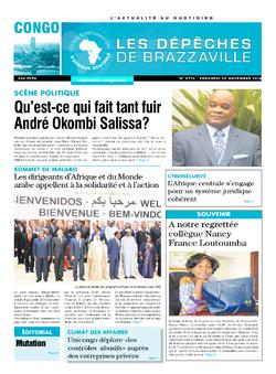 Les Dépêches de Brazzaville : Édition brazzaville du 25 novembre 2016