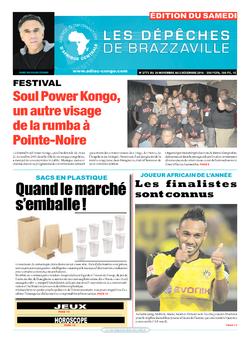 Les Dépêches de Brazzaville : Édition du 6e jour du 26 novembre 2016