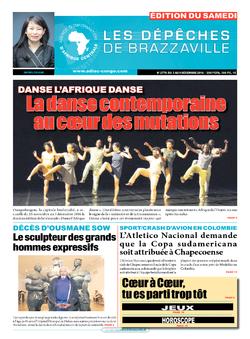 Les Dépêches de Brazzaville : Édition du 6e jour du 03 décembre 2016
