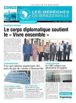 Les Dépêches de Brazzaville : Édition brazzaville du 08 décembre 2016