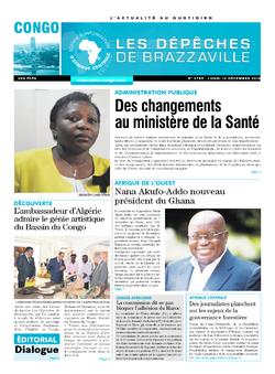 Les Dépêches de Brazzaville : Édition brazzaville du 12 décembre 2016