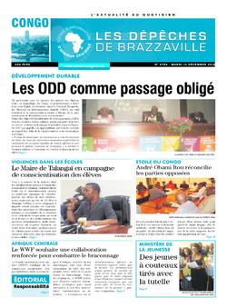 Les Dépêches de Brazzaville : Édition brazzaville du 13 décembre 2016