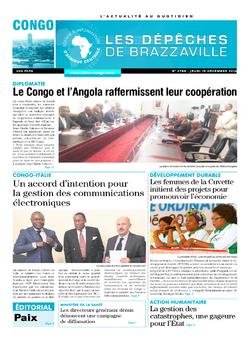 Les Dépêches de Brazzaville : Édition brazzaville du 15 décembre 2016