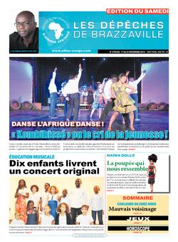 Les Dépêches de Brazzaville : Édition du 6e jour du 17 décembre 2016