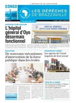 Les Dépêches de Brazzaville : Édition brazzaville du 13 mars 2017