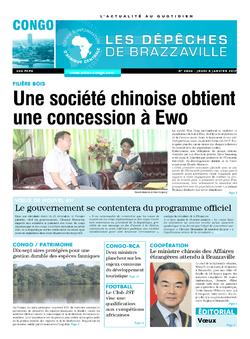 Les Dépêches de Brazzaville : Édition brazzaville du 05 janvier 2017