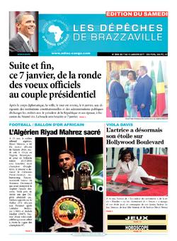 Les Dépêches de Brazzaville : Édition du 6e jour du 07 janvier 2017