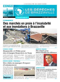 Les Dépêches de Brazzaville : Édition brazzaville du 12 janvier 2017