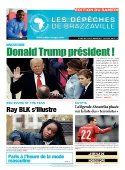 Les Dépêches de Brazzaville : Édition du 6e jour du 21 janvier 2017