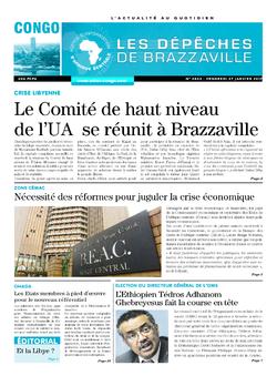 Les Dépêches de Brazzaville : Édition brazzaville du 27 janvier 2017