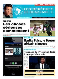 Les Dépêches de Brazzaville : Édition du 6e jour du 28 janvier 2017