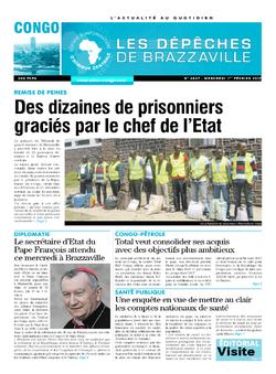 Les Dépêches de Brazzaville : Édition brazzaville du 01 février 2017