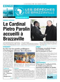 Les Dépêches de Brazzaville : Édition brazzaville du 02 février 2017