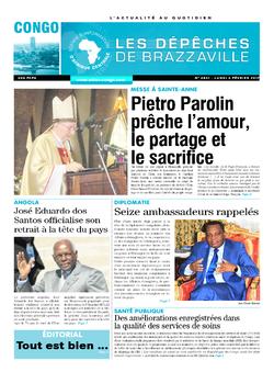 Les Dépêches de Brazzaville : Édition brazzaville du 06 février 2017