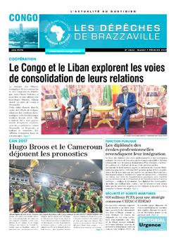 Les Dépêches de Brazzaville : Édition brazzaville du 07 février 2017