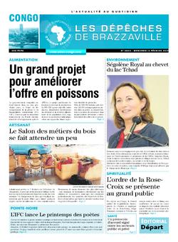 Les Dépêches de Brazzaville : Édition brazzaville du 08 février 2017