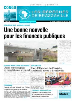 Les Dépêches de Brazzaville : Édition brazzaville du 10 février 2017