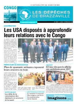 Les Dépêches de Brazzaville : Édition brazzaville du 13 février 2017