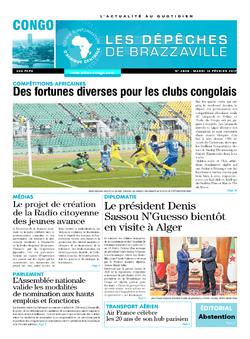 Les Dépêches de Brazzaville : Édition brazzaville du 14 février 2017