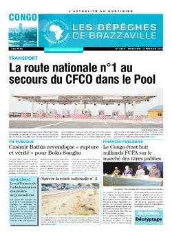 Les Dépêches de Brazzaville : Édition brazzaville du 15 février 2017