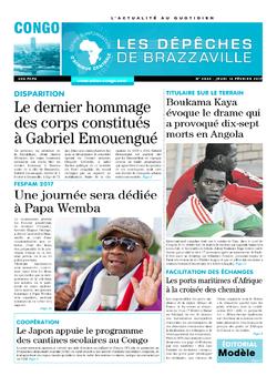 Les Dépêches de Brazzaville : Édition brazzaville du 16 février 2017