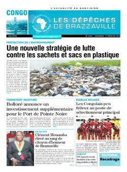 Les Dépêches de Brazzaville : Édition brazzaville du 17 février 2017