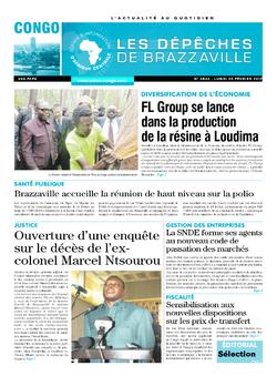 Les Dépêches de Brazzaville : Édition brazzaville du 20 février 2017