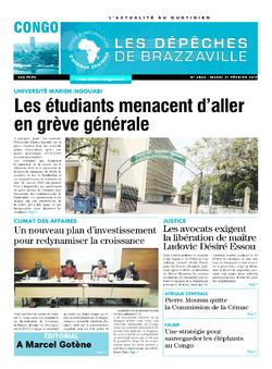 Les Dépêches de Brazzaville : Édition brazzaville du 21 février 2017