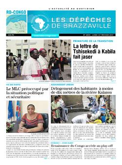 Les Dépêches de Brazzaville : Édition kinshasa du 27 février 2017