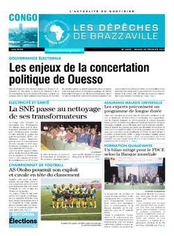Les Dépêches de Brazzaville : Édition brazzaville du 28 février 2017