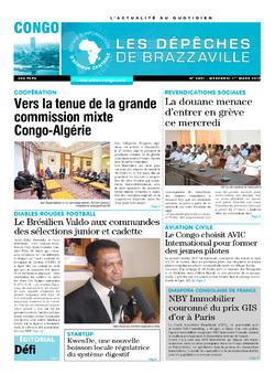 Les Dépêches de Brazzaville : Édition brazzaville du 01 mars 2017