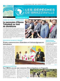 Les Dépêches de Brazzaville : Édition kinshasa du 01 mars 2017
