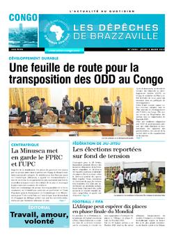 Les Dépêches de Brazzaville : Édition brazzaville du 02 mars 2017