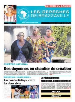 Les Dépêches de Brazzaville : Édition du 6e jour du 04 mars 2017