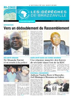 Les Dépêches de Brazzaville : Édition kinshasa du 06 mars 2017