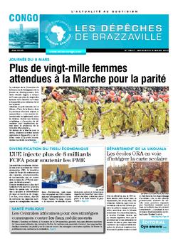 Les Dépêches de Brazzaville : Édition brazzaville du 08 mars 2017