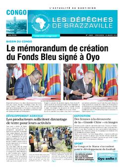 Les Dépêches de Brazzaville : Édition brazzaville du 10 mars 2017
