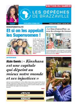 Les Dépêches de Brazzaville : Édition du 6e jour du 11 mars 2017