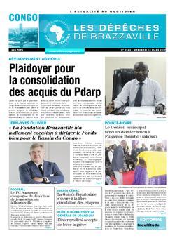 Les Dépêches de Brazzaville : Édition brazzaville du 15 mars 2017