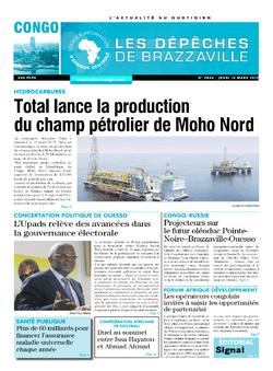 Les Dépêches de Brazzaville : Édition brazzaville du 16 mars 2017
