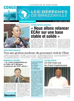 Les Dépêches de Brazzaville : Édition brazzaville du 21 mars 2017