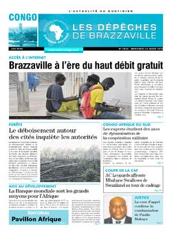 Les Dépêches de Brazzaville : Édition brazzaville du 22 mars 2017
