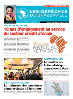 Les Dépêches de Brazzaville : Édition du 6e jour du 25 mars 2017
