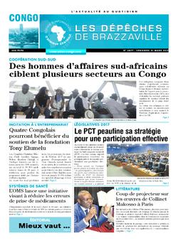 Les Dépêches de Brazzaville : Édition brazzaville du 31 mars 2017
