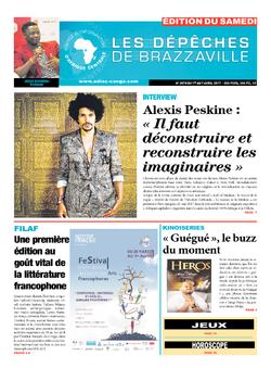 Les Dépêches de Brazzaville : Édition du 6e jour du 01 avril 2017