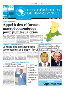Les Dépêches de Brazzaville : Édition brazzaville du 03 avril 2017