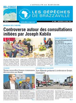 Les Dépêches de Brazzaville : Édition kinshasa du 05 avril 2017