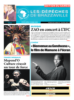 Les Dépêches de Brazzaville : Édition du 6e jour du 08 avril 2017