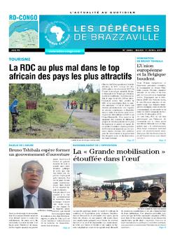 Les Dépêches de Brazzaville : Édition kinshasa du 11 avril 2017
