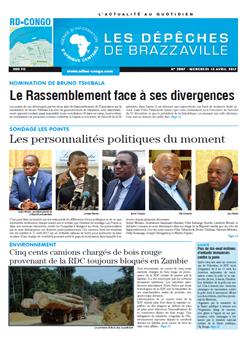Les Dépêches de Brazzaville : Édition kinshasa du 12 avril 2017